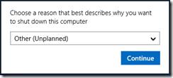 Shut Down Windows-Server2012